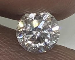 (1) Certified Nat $830  Brilliant  0.47cts SI1  White Round Loose Diamond