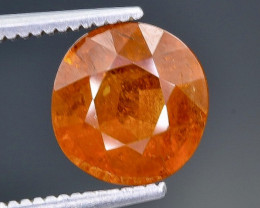 2.67 Crt Spessartite Garnet Faceted Gemstone (Rk-2)
