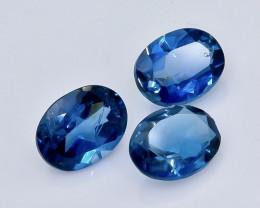 4.50 Crt London Blue Topaz Lot Faceted Gemstone (Rk-2)