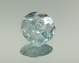 Aquamarine, 1.125ct, cut by myself, nice colour interesting stone!