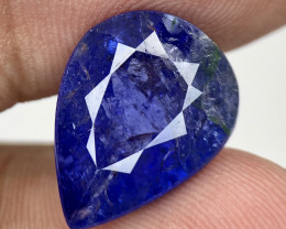 ~No Reserve~ 10.15 Nice color Included Yet Attractive Big Size Tanzanite