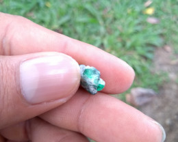 Untreated Colombian emerald specimen from Chivor 4.45cts