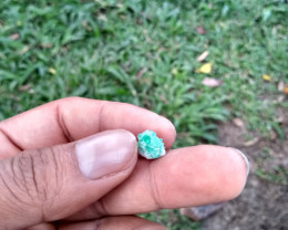 Untreated Colombian emerald specimen from Chivor 3.18cts
