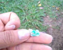 Colombian emerald specimen from Chivor 7.53 cts