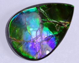 25x16mm,  20.80cts Natural Canadian Ammolite Stone / MA1824