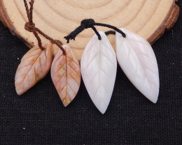 24cts pink opal earrings two pair,earrings beads, stone for earrings making