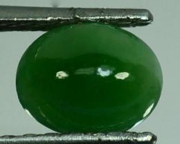 UNTREATED~ 1.68 Cts Natural Burmese Jade Oval Cabochon