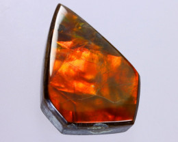 23x16mm,  16.65cts Natural Canadian Ammolite Stone / MA1833
