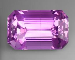 37.10Ct Pink Kunzite Top Fancy Cut Pakistan PKZ 06
