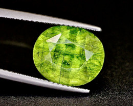 7.40 CT Natural Beautiful Rutile Peridot Gemstone