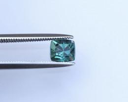Indicolite Tourmaline 0.95 ct Ring Size