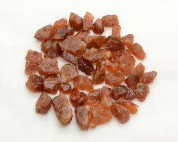 250 CT Orange Rough Hessonite Garnet Crystals @Pakistan
