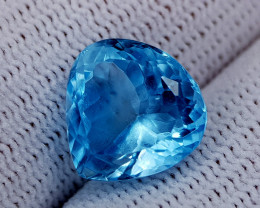 7.85CT BLUE TOPAZ BEST QUALITY GEMSTONE IIGC40