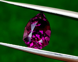 2.78CT GRAPE GARNET BEST QUALITY GEMSTONE IIGC40