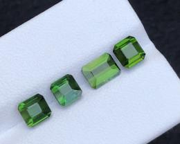Beautiful pieces 4.25 Ct Natural  Green Tourmaline Lot