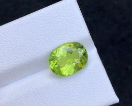 Brilliant Color 3.75 Ct Natural Peridot