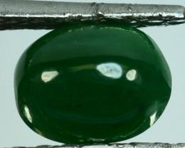 ~UNTREATED~ 2.01 Cts Natural Green Jade Cabochon Burmese