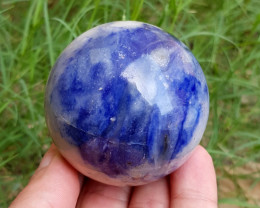1320 Cts Beautiful Sodalite Healing Sphere From  Afghanistan