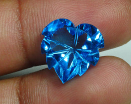 9.810 CRT LOVELY SWISS BLUE TOPAZ VERY CLEAR-