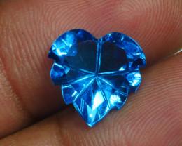 5.955 CRT LOVELY SWISS BLUE TOPAZ VERY CLEAR-