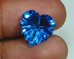 7.960 CRT LOVELY SWISS BLUE TOPAZ VERY CLEAR-