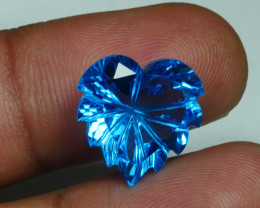 10.110 CRT LOVELY SWISS BLUE TOPAZ VERY CLEAR-