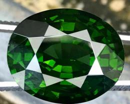 23.63 CT ZIRCON CHROME GREEN 100% NATURAL UNHEATED