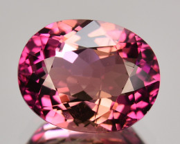 1.39 Cts NATURAL RUBELLITE TOURMALINE -PURPLE PINK - OVAL - MOZAMBIQUE