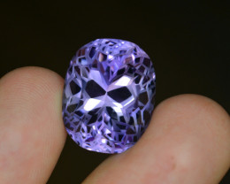 Top Quality Cutting 31.50 Ct Sparkling Color Natural Amethyst S1