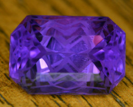 Top Quality Cutting 14.45 Ct Sparkling Color Natural Amethyst S1