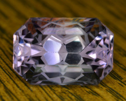 Top Quality Cutting 13.60 Ct Sparkling Color Natural Amethyst S1