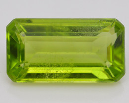 Peridot 6.35 Ct Natural Amazing Color, Top Quality  ~ 1