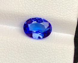 Top Grade 1.30 ct lovely Tanzanite Ring Size
