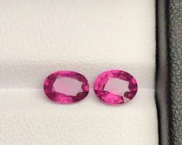 Top Grade 1.80 ct lovely Garnet  Ring Size Pair