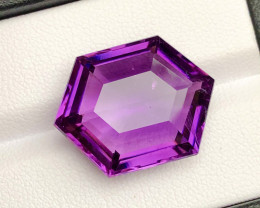 Top Grade 18.70 ct lovely Amethyst Ring Size