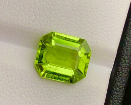 Top Grade 3.45 ct lovely Peridot Ring Size