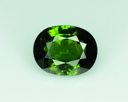 1.75 ct Natural Green Tourmaline - from Africa