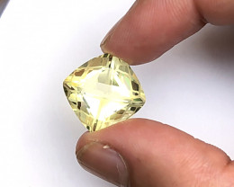 16.50 Carats Natural Kunzite Fancy Cut Stone from Afghanistan