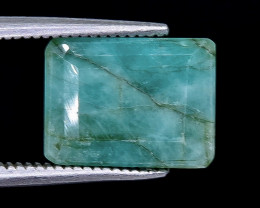 5.30 Crt Emerald Faceted Gemstone (Rk-3)