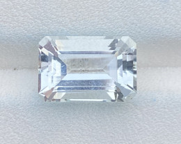 Natural Aquamarine 4.05 Cts Good Quality Gemstone