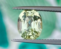 2.80 cts Natural Yellow Tourmaline Good Quality Gemstone