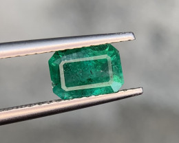 1.10 carat Natural Emerald Gemstone