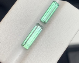 3.05 carats transparent Green colour Tourmaline Gemstone  From Afghanistan