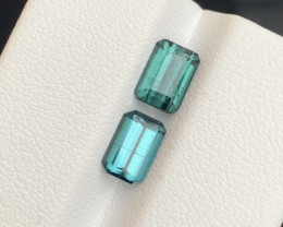2.65 carats blue indicolite colour Tourmaline Gemstone  From Afghanistan