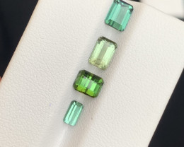 2.80 carats blue and green colour Tourmaline Gemstone  From Afghanistan