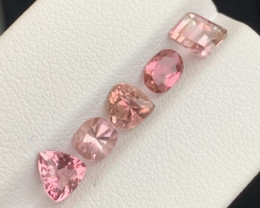 3.15 carats Baby pink colour Tourmaline Gemstone From Afghanistan