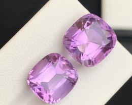 20.50 Carats fancy cut amethyst gemstone