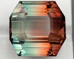 69.35 CT Bi Color Tourmaline Gemstone Top fancy cutting top luster