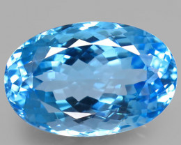 22.89  ct. 100% Natural Earth Mined Top Quality Blue Topaz Brazil