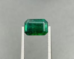 2.03 CT Emerald gemstone Vivid green
